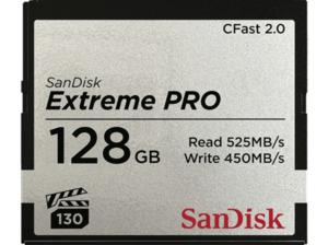 SANDISK Extreme PRO® Speicherkarte CFast 2.0, 128 GB, 525 MB/s