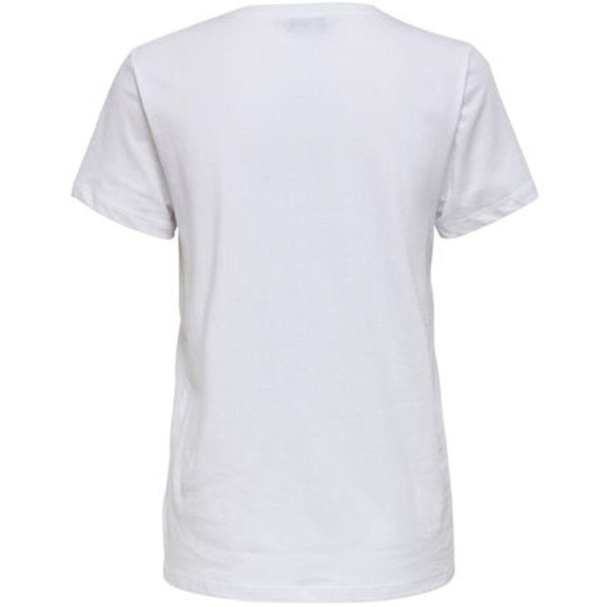 Bild 2 von Only T-Shirt, Print, Rundhals, Kurzarm, für Damen