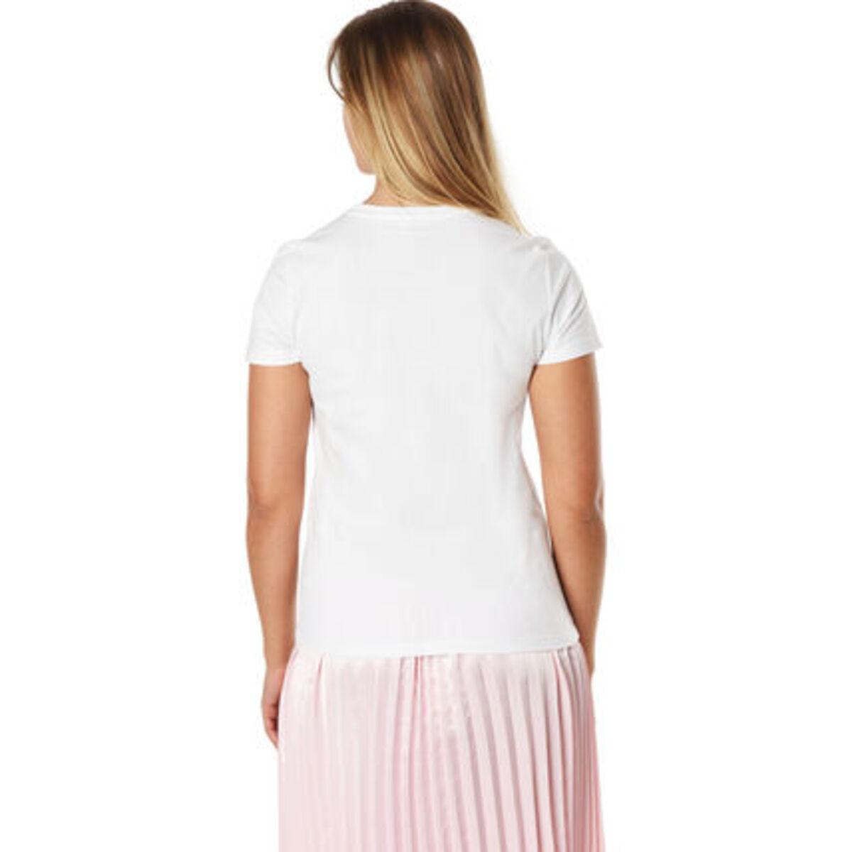 Bild 2 von Only T-Shirt, Rundhals, für Damen