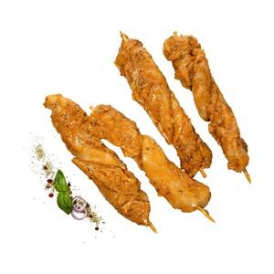 Frische Hähnchen-Innenfiletspieße Teilstück, mariniert, je 1 kg
