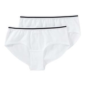 Damen-Panty mit Kontrast-Streifen, 2er Pack