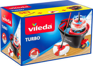 VILEDA  Turbo Komlett-Set + Ersatzbezug