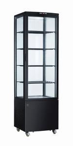 METRO Professional Kühlvitrine GGC3270B, schwarz