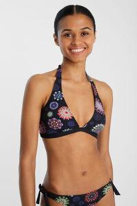 Bikinioberteil Neckholder Mandala-Muster