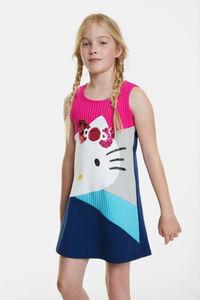 Ausgestelltes Kleid Hello Kitty