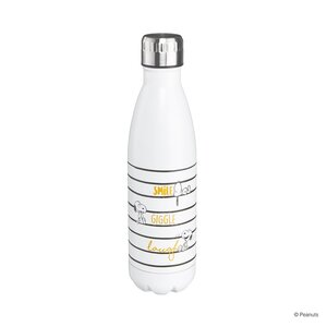 PEANUTS Isolierflasche 'Smile Giggle Laugh' 500ml