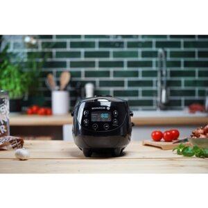 Reishunger Digitaler Mini Reiskocher 0,6l Schwarz