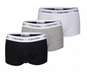 Calvin Klein Herren Retroshorts 3er Pack schwarz, weiß, grau