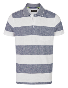 Bexleys man - Polo-Shirt gestreift