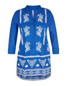 Bexleys woman - Bluse mit folkloristischer Stickerei