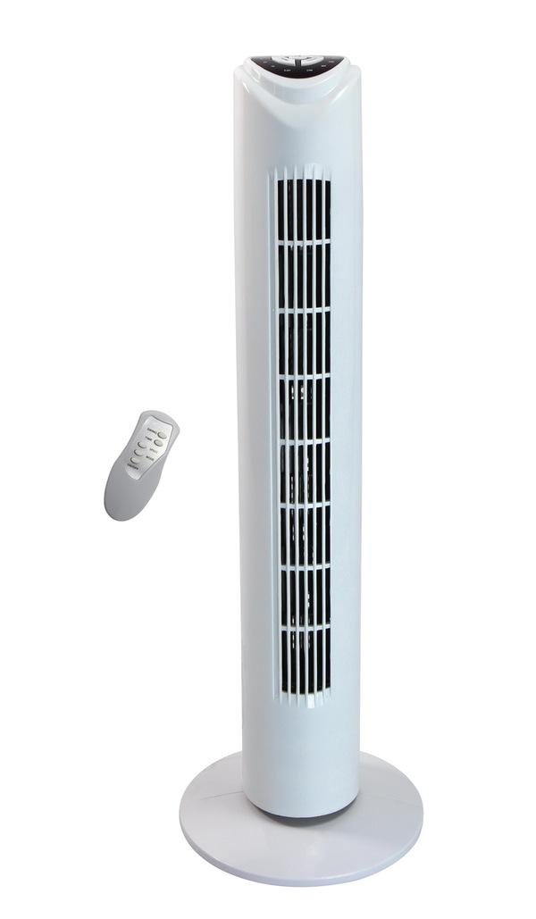 Eycos Turmventilator mit Fernbedienung LG32-02R weiß