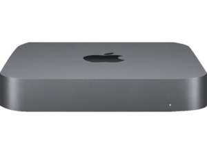 APPLE Mac mini MRTR2D/A-142057, Mini PC, Core i3 Prozessor, 64 GB RAM, 2 TB SSD, Intel® UHD-Grafik 630, Space Grau
