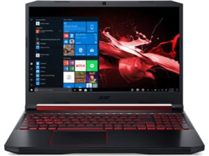 ACER Nitro 5 (AN515-54-78LG), Gaming Notebook mit 15.6 Zoll Display, Core™ i7 Prozessor, 8 GB RAM, 512 GB SSD, GeForce® GTX 1650, Schwarz/Rot