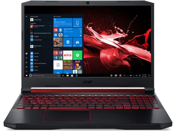 ACER Nitro 5 (AN515-54-78LG), Gaming Notebook mit 15.6 Zoll Display, Core™ i7 Prozessor, 8 GB RAM, 512 GB SSD, GeForce® GTX 1650, Schwarz/Rot