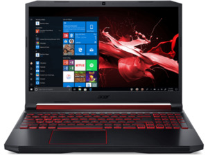 ACER Nitro 5 (AN515-54-526S), Gaming Notebook mit 15.6 Zoll Display, Core™ i5 Prozessor, 8 GB RAM, 512 GB SSD, GeForce® GTX 1650, Schwarz/Rot