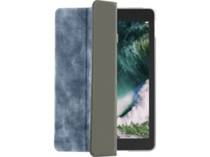 HAMA Used-Look Tablethülle, Bookcover, 9.7 Zoll, Blau