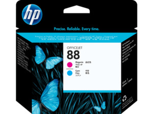 HP 88 Tintenpatrone Cyan/Magenta (C9382A)