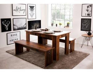 Tischgruppe München Oldwood Nachbildung ca. 140 cm