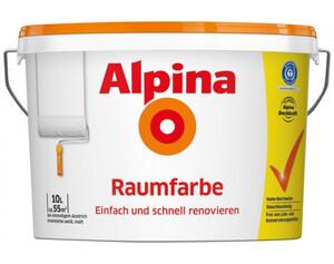 Alpina Raumfarbe weiß 10 Liter