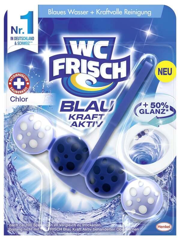 WC FRISCH Blau Kraft-Aktiv Duftspüler Chlor
