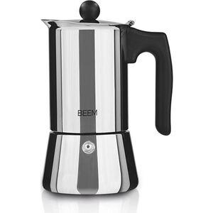 BEEM Espresso-Kocher 220ml Edelstahl/schwarz
