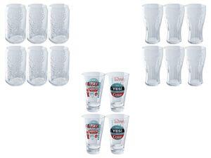 Gläser »COCA COLA«, 4- oder 6-teilig, spülmaschinengeeignet