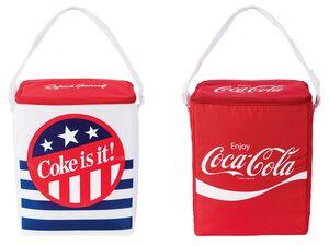 Kühltasche »Coca Cola«, 14 l Fassungsvermögen, mit 9 Stunden Kühlakku