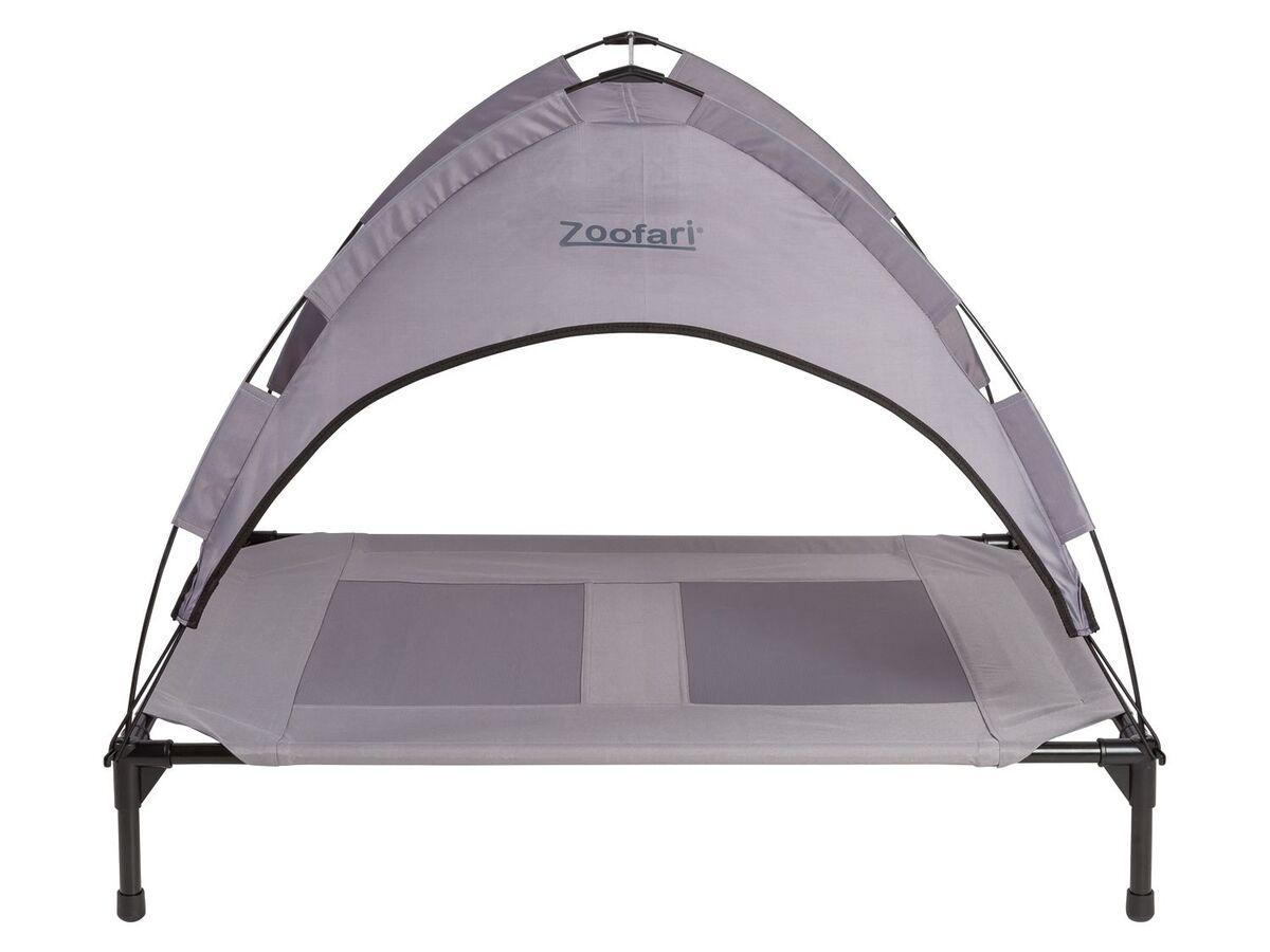 Bild 4 von ZOOFARI® Hundebett, abnehmbares Sonnendach, UV-Schutz, 60 kg Belastbarkeit