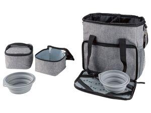 ZOOFARI® Reisetasche, für Hundezubehör, mit Taschen und Fächern