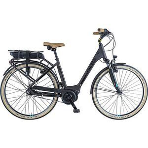 BBF Madrid 700c E-Bike Damenrad Stadtrad 28 Zoll Pedelec Elektrofahrrad Citybike StVZO... 50 cm, braun