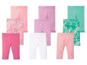 LUPILU® Leggings Mädchen, 3 Stück, mit Baumwolle und Elasthan