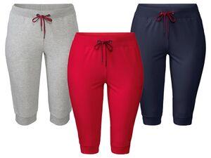 ESMARA® Relaxhose Damen, mit seitlichen Eingrifftaschen, Kordelzug und elastischer Bund
