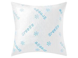 MERADISO® Kissenbezug »Freeze«, 80 x 80 cm, Sommer- und Winterseite, mit Reißverschluss