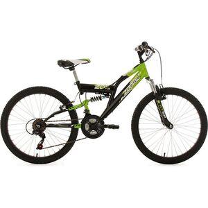 """KS Cycling Kinderfahrrad MTB Fully 24"""" Zodiac RH 38 cm"""