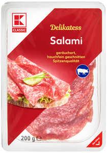 K-CLASSIC  Delikatess Salami oder Paprika-Salami