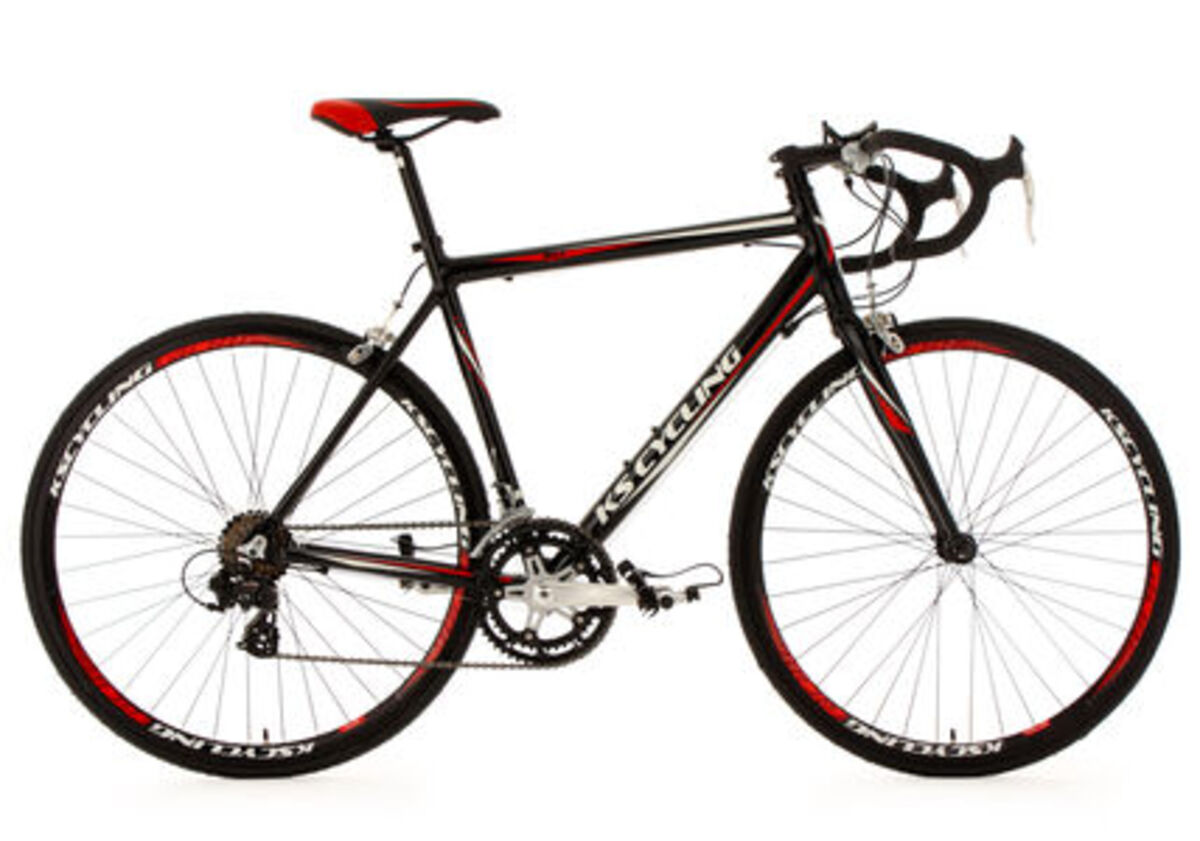 Bild 1 von KS Cycling 28 Rennrad 14 Gänge Euphoria schwarz