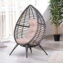 Bild 2 von Outsunny Gartensessel mit Sitzkissen