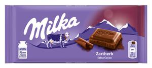 Milka Zartherb Schokolade 100 g