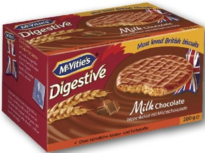 Mc Vities Milk Chocolate Weizenkekse 200 g