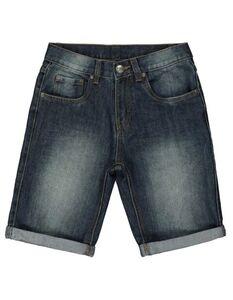 Jungen Jeansshorts mit fixiertem Beinumschlag