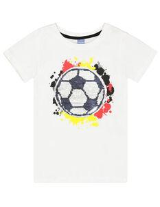 Jungen T-Shirt mit Pailletten