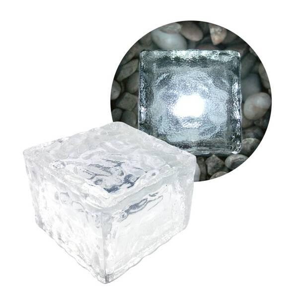 LED Solar Glaswürfel Eaxus