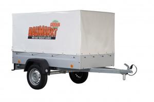 TPV PKW Anhänger Set EU2 750 kg, Version für Deutschland ,  inklusive Zubehör