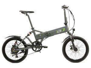 Llobe E-Bike »City III«, Klapprad, Alu Faltrad, 20 Zoll, 60-80 km Reichweite