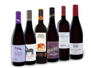 6 x 0,75-l-Flasche Weinpaket Südafrika Rot