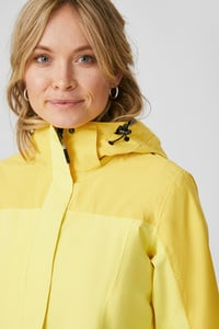 C&A Regenjacke, Gelb, Größe: 36