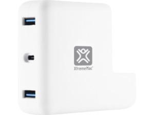 XTREME MAC USB HUB XtremeMac MacBook Charging HUB 2X USB-A 3.0 PORTS White USB HUB Weiß