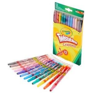 Crayola Twistables Wachsmalstifte 12 Stück