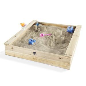 Plum Sandkasten Holz mit Sitzfläche