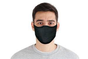 Mund-Nasen-Maske, 3er-Set, vorgeformt, waschbar